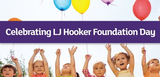 Celebrating LJ Hooker Foundation Day