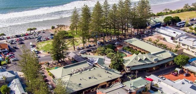 Byron Bay's Iconic Beach Hotel